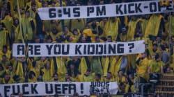 Η UEFA δεν ήταν αρμόδια αρχή για αναβολή του ματς με την