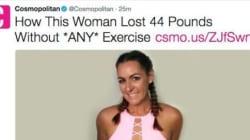 Ο καρκίνος είναι η νέα «τάση» στις δίαιτες για το Cosmpolitan και φυσικά αξίζει όλα τα οργισμένα σχόλια στο