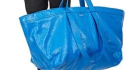 Ce sac Balenciaga à 1695 euros ressemble au sac Ikea à 8,5