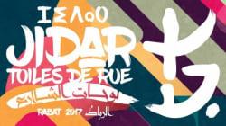 Les festival street-art Jidar 2017 a donné son coup