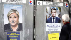 France: Macron et Le Pen au deuxième