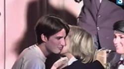 Όταν ο 15χρονος Μακρόν φιλούσε την καθηγήτριά του (και νυν σύζυγό του) σε σχολική