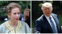 Donald Trump reçoit Chrifa Lalla Joumala, Ambassadeur du Maroc aux
