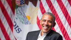 La petite vanne de Barack Obama pour sa première allocution publique depuis qu'il a quitté la