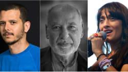 Abdellah Taïa, Tahar Ben Jelloun et Hindi Zahra au 21e Salon de Tanger des livres et des