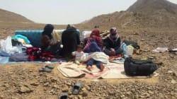 A la frontière maroco-algérienne, des réfugiés syriens attendent toujours le droit