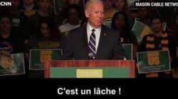 Le puissant discours de Joe Biden sur le viol et le