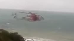 Intempéries: sauvetage de deux personnes coincées sur des rochers à Ténès
