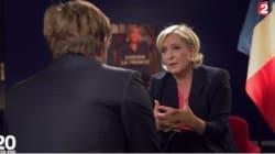 Marine Le Pen craint une France de demain