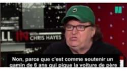 Michael Moore a un regard assez piquant sur les 100 premiers jours de