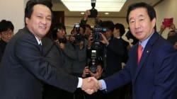 '바른정당 탈당' 김성태에 안민석이 전한