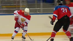 Ο (πολυμήχανος) Πούτιν παίζει χόκεϊ με «θρύλο» του