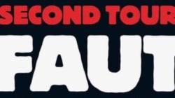 La une sans dessin mais très explicite de Charlie Hebdo avant le second tour de l'élection