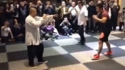 Μονομαχία μεταξύ ενός μάστερ του Κουνγκ Φου και ενός μαχητή MMA. Μαντέψτε ποιος