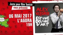 L'humour intelligent d'Alex Vizorek à découvrir à l'Agora dans le cadre du Pré-festival Juste Pour