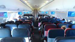 Le siège le plus sûr dans un avion, selon des analyses