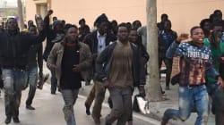 Plus de cent migrants ont réussi à rejoindre