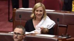 Une sénatrice australienne allaite en pleine séance