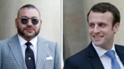 Le roi Mohammed VI s'est entretenu avec Emmanuel Macron au
