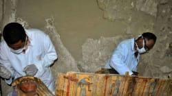 Egypte: découverte de 17 momies dans des catacombes du centre du
