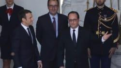 Emmanuel Macron officiellement investi président de la