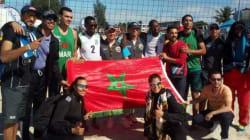 Beach-Volley: Le Maroc champion d'Afrique chez les hommes et vice-champion chez les