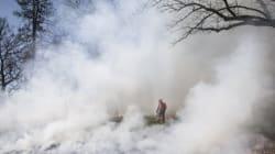 28χρονος συνελήφθη ως υπαίτιος για την πυρκαγιά στους Αγίους Θεοδώρους
