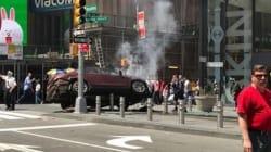 New York: une voiture fonce dans la foule à Times Square faisant un mort et plusieurs