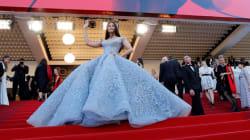 Au festival de Cannes, Aishwarya Rai Bachchan se prend pour