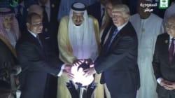 Cette photo de Donald Trump en Arabie Saoudite vaut le