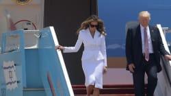 Quand Melania Trump refuse de prendre la main de Donald