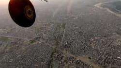 H μάχη Ιρακινού στρατού-τζιχαντιστών πάνω από την Μοσούλη σε βίντεο 360 μοιρών του