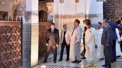 Le roi inaugure les médersas restaurées de