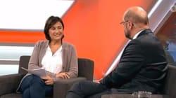 Martin Schulz versucht es bei Maischberger mit Charme - die lässt ihn eiskalt