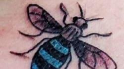 Οι κάτοικοι του Μάντσεστερ κάνουν μαζικά το ίδιο τατουάζ- μέλισσα για δύο αξιοθαύμαστους