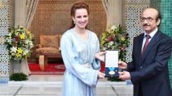 La princesse Lalla Salma reçoit la médaille d'or de