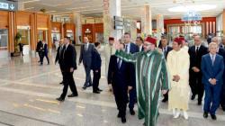 Le roi inaugure le nouveau terminal de l'aéroport de