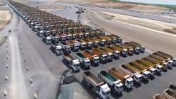 Τουρκία: Προκλητικό ρεκόρ Γκίνες. Με παρέλαση 1453 φορτηγών γιόρτασαν την 564η επέτειο της άλωσης της