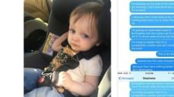 한 아빠가 애가 차에 토한 걸 치우다가 겪은 웃지 못할 처참한