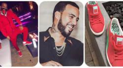 French Montana dévoile ses baskets Puma aux couleurs du Maroc et parle des bienfaits du ramadan avec Vin