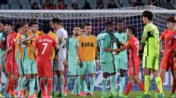 한국이 U-20 16강에서 포르투갈에