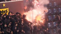 Θεσσαλονίκη: Δικογραφία σε βάρος 4 οπαδών του Άρη για τα επεισόδια στον τελικό του κυπέλλου