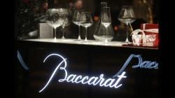 La cristallerie française de luxe Baccarat passe aux mains d'un fonds d'investissement