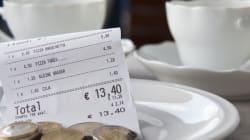 Wenn ihr dieses Wort auf der Restaurantrechnung seht, habt ihr wahrscheinlich bei einem Betrüger