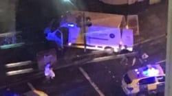 Londres: Une camionnette percute des piétons sur le London