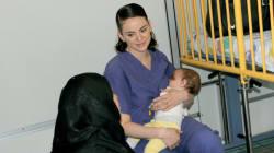 Mit diesem Bild zeigt eine Krankenschwester die ganze Absurdität des