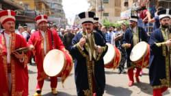 Nuits de Ramadan: Parade de janissaires turcs au centre ville de