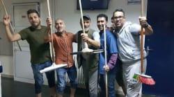 Quand l'équipe médicale de l'Institut Mohamed Kassab fait le ménage