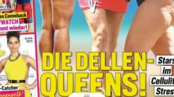 Wie dieses deutsche Magazin Frauen und ihre Körper vorführt, ist einfach nur