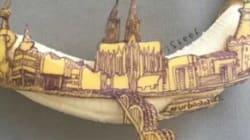 Cet artiste sculpte les peaux de bananes comme